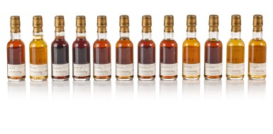 View 7. Thumbnail of Lot 20. The Macallan Fine & Rare Miniature Collection (38 bt).