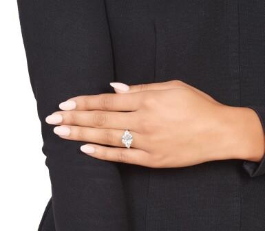View 6. Thumbnail of Lot 354. Diamond Ring.
