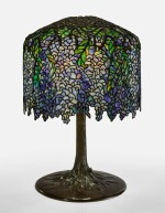 "TIFFANY STUDIOS   ""WISTERIA"" TABLE LAMP"