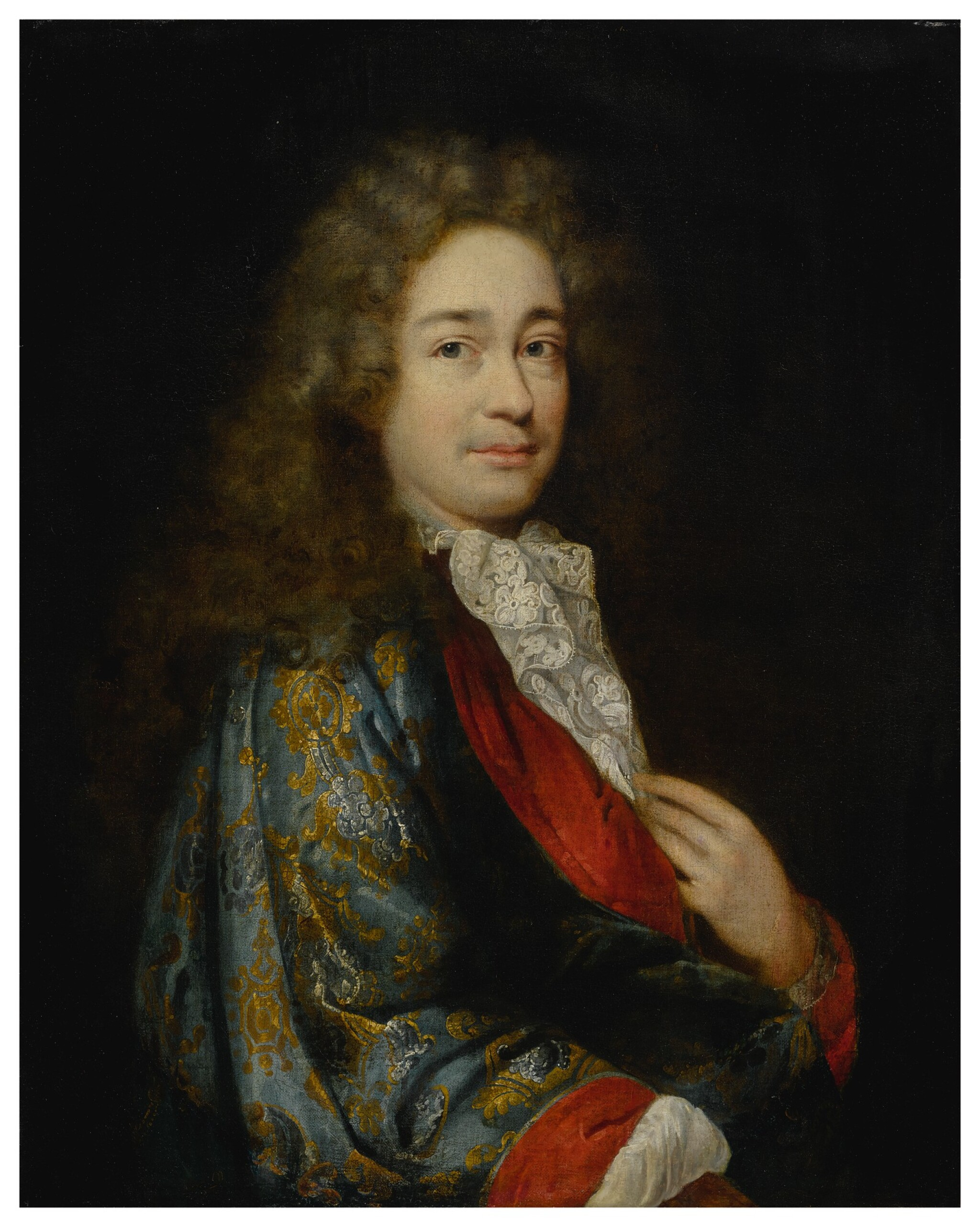 View full screen - View 1 of Lot 661. Portrait of a gentleman, half-length.