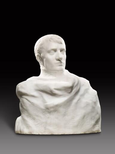View 3. Thumbnail of Lot 1016. Auguste Rodin 奧古斯特・羅丹 | Napoléon Enveloppé dans Son Réve 逐夢的拿破崙.