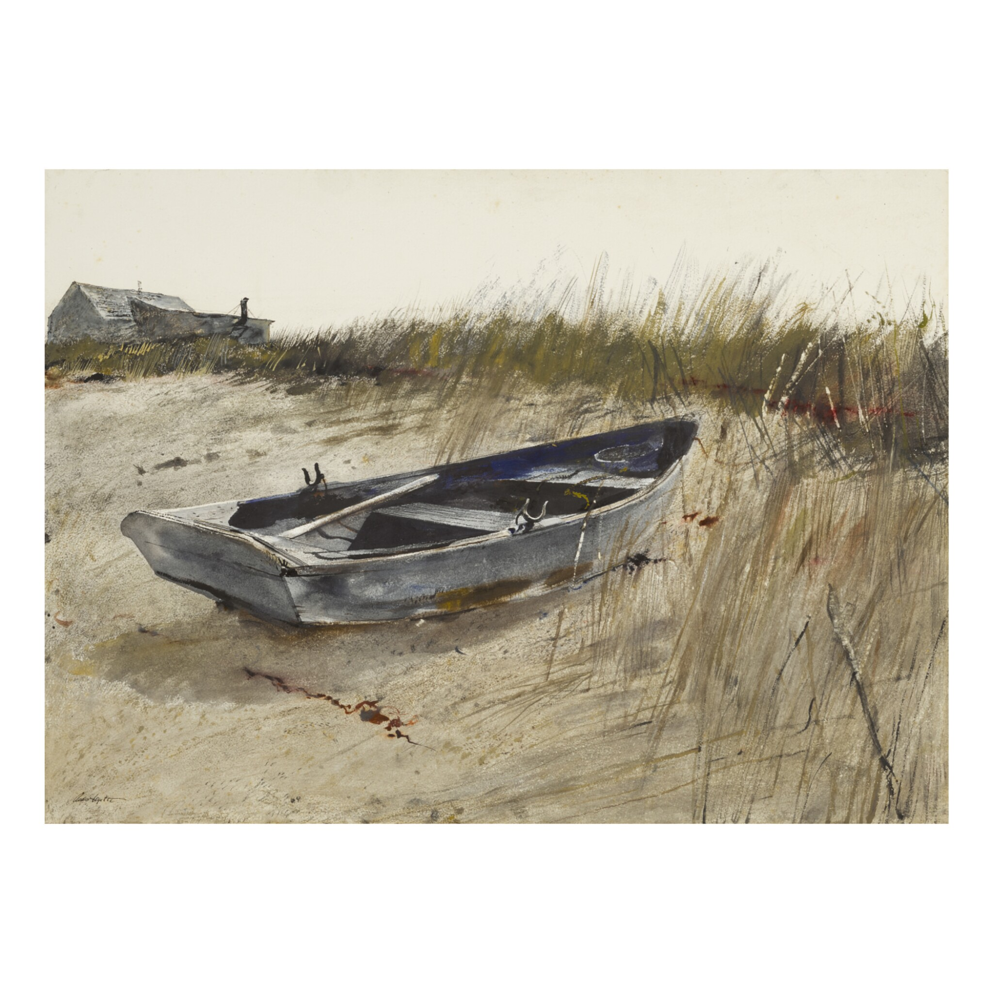 View full screen - View 1 of Lot 2. ANDREW WYETH | ABOVE THE TIDE.