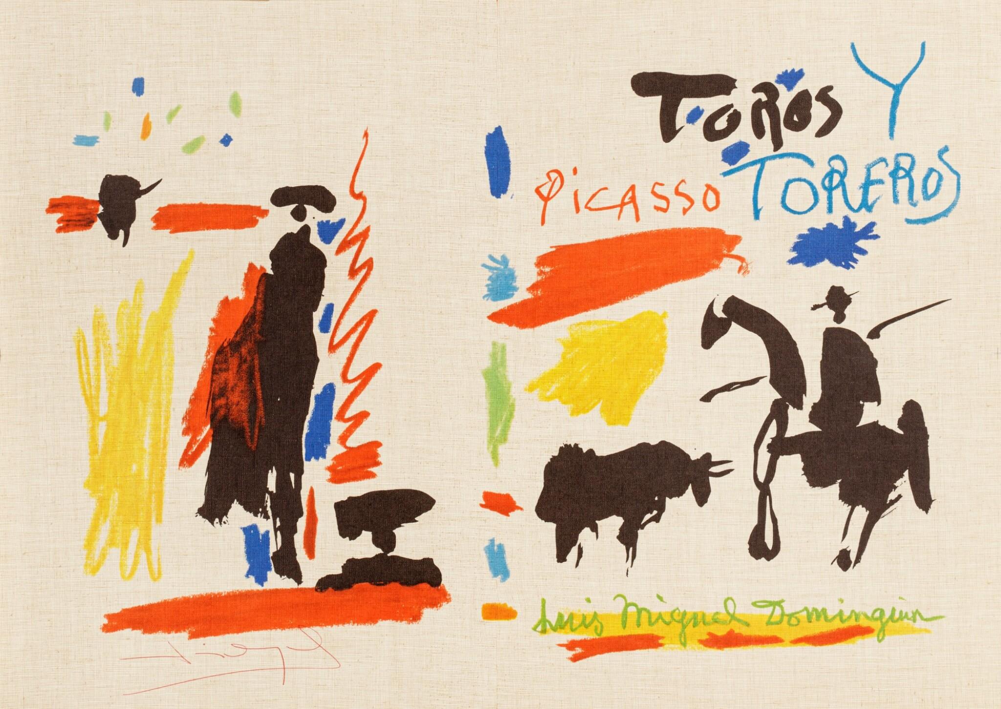View 1 of Lot 85. Toros y toreros (Cf. Cramer Books 112).