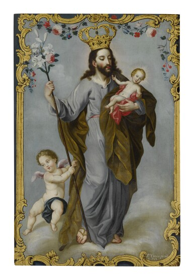 JOSÉ CORTEZ DE ALCOCER | SAINT JOSEPH AND CHILD