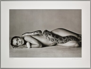 View 2. Thumbnail of Lot 141. RICHARD AVEDON | 'NASTASSJA KINSKI AND THE SERPENT', LOS ANGELES, CALIFORNIA, 1981.