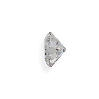 View 4. Thumbnail of Lot 2. A 4.07 Carat Round Diamond, E Color, VS1 Clarity.