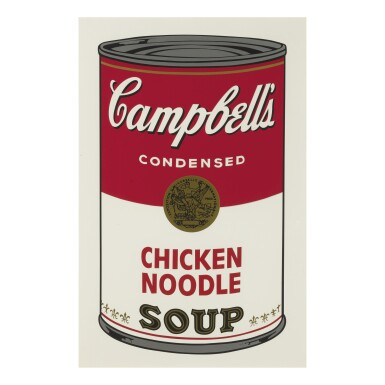 View 3. Thumbnail of Lot 19. ANDY WARHOL | CAMPBELL'S SOUP I (F. & S. II.44-53).