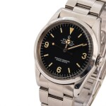 ROLEX  Explorer, Ref. 1016, A Stainless Steel Wristwatch with Bracelet, Circa 1979