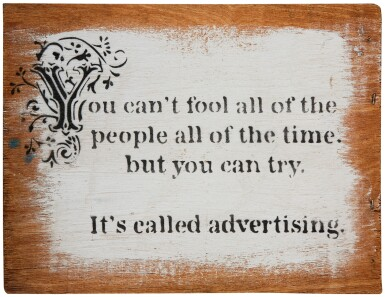 BANKSY   YOU CAN'T FOOL ALL OF THE PEOPLE...