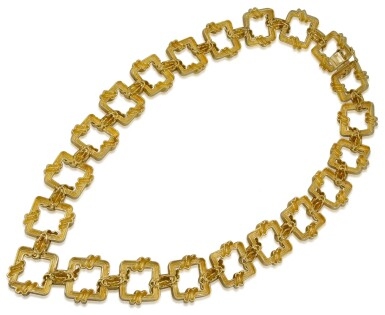 View 3. Thumbnail of Lot 23. TIFFANY & CO.   GOLD NECKLACE.
