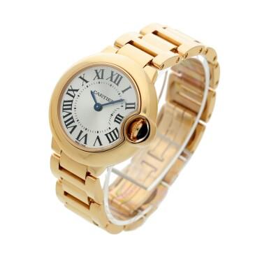 View 2. Thumbnail of Lot 20. Reference 3007 Ballon Bleu A pink gold wristwatch with bracelet, Circa 2015 .