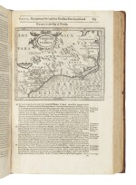 Purchase, Samuel. Purchas his Pilgrimes in five bookes [with:] Purchas his Pilgrimage. London: 1624-26