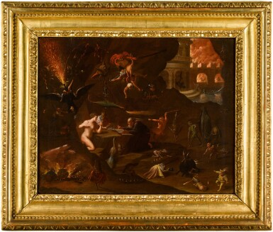 View 2. Thumbnail of Lot 130. The Temptation of Saint Anthony.
