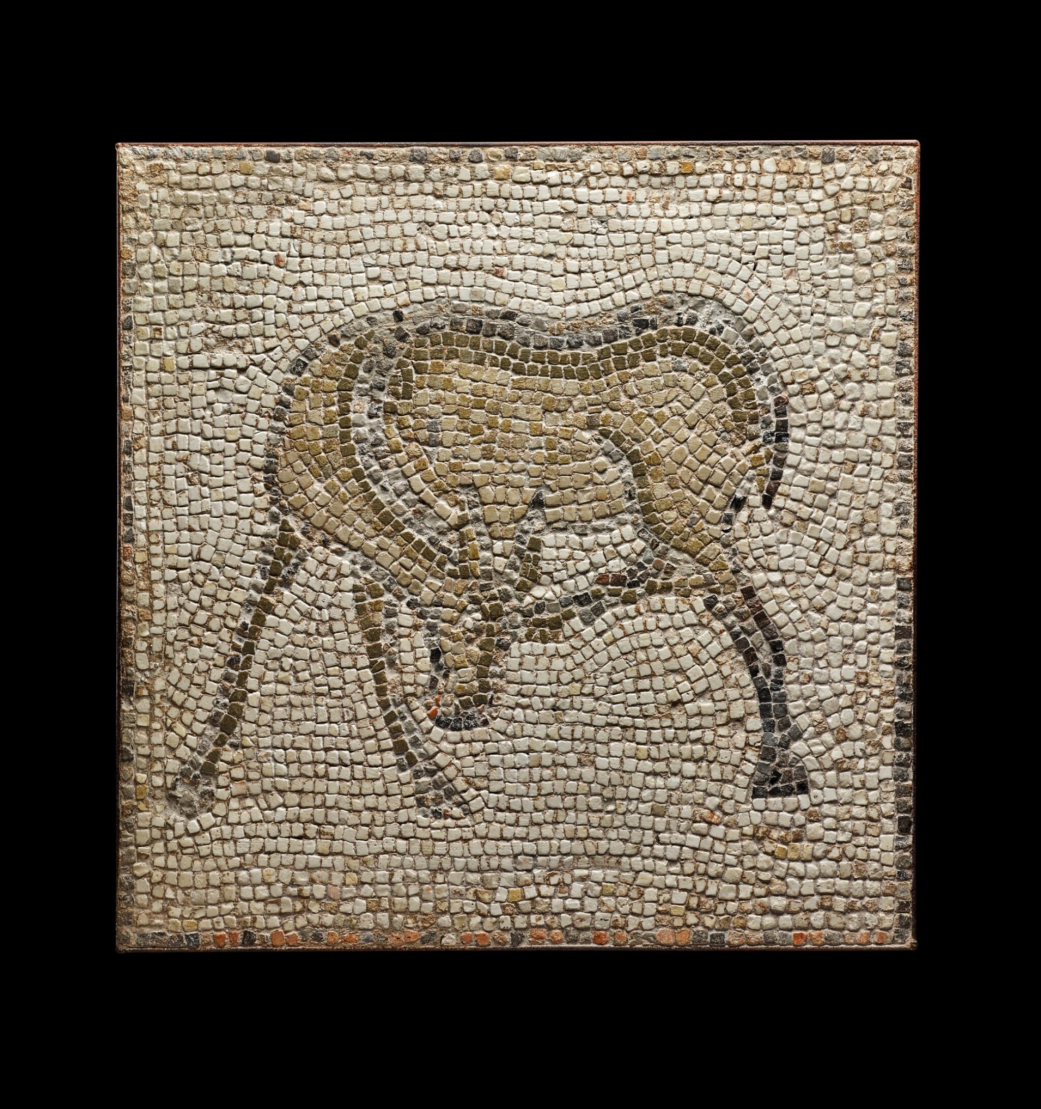 View full screen - View 1 of Lot 111. A Byzantine Mosaic Fragment, 5th/6th Century A.D..
