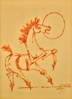 MAQBOOL FIDA HUSAIN | UNTITLED (HORSE)
