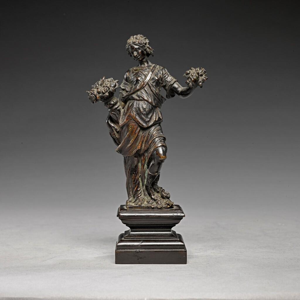 ATTRIBUTED TO FRANCESCO FANELLI (CIRCA 1590-1653) | FLORA OR ABUNDANCE