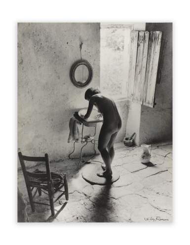 View 2. Thumbnail of Lot 261. WILLY RONIS   LE NU PROVENÇAL, GORDES, 1940.