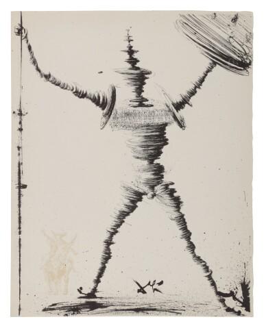 View 1. Thumbnail of Lot 79. Pages choisies de Don Quichotte de la Manche (Michler/Löpsinger 1001-1012; Field 57-1).