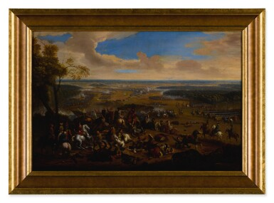 View 5. Thumbnail of Lot 636. Battle of Torino, and another battle scene.