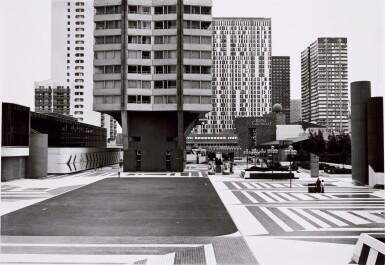 View 3. Thumbnail of Lot 36. 'Clinton Road', Murdock Cottages, London, 1977; 'Panorama 2', Beaugrenelle, Paris, 1979; 'Gereonswall', Koln, 1980; 'Calle Tintoretto', Venezia, 1990.