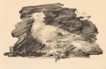 PABLO PICASSO | PIGEON AU FOND GRIS (B. 418; M. 64)
