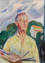 Self-Portrait with Palette