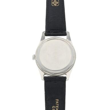 View 4. Thumbnail of Lot 78. Ref. 2526P Platinum and diamond-set wristwatch Made in 1954 | 百達翡麗 2526P型號鉑金鑲鑽石腕錶,1954年製.
