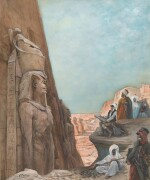 GEORGES CLAIRIN | Visiting Luxor
