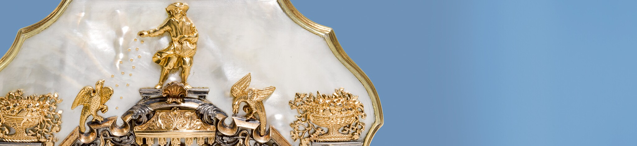 STYLE:  European Silver, Gold Boxes and Ceramics