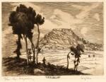 Kogevinas. La Grèce byzantine et franque. [1927], limited edition signed by the artist