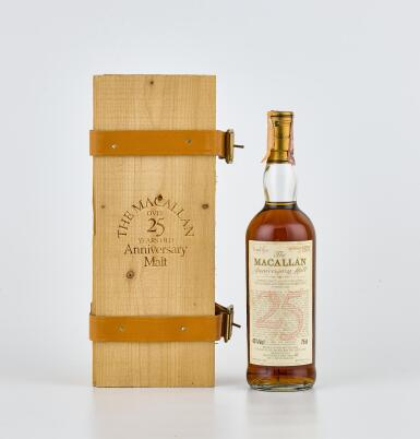 The Macallan 25 Year Old Anniversary Malt 43.0 abv 1965 (1 BT70)