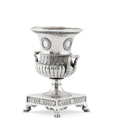 View 2. Thumbnail of Lot 302. A French silver small vase, Jean-Baptiste-Claude Odiot, Paris, 1819-1826 | Petit vase en argent par Jean-Baptiste-Claude Odiot, Paris, 1819-1826.