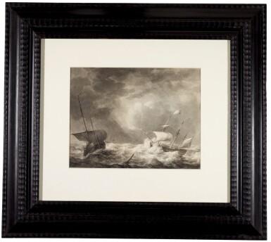 View 2. Thumbnail of Lot 34. Storm at sea.