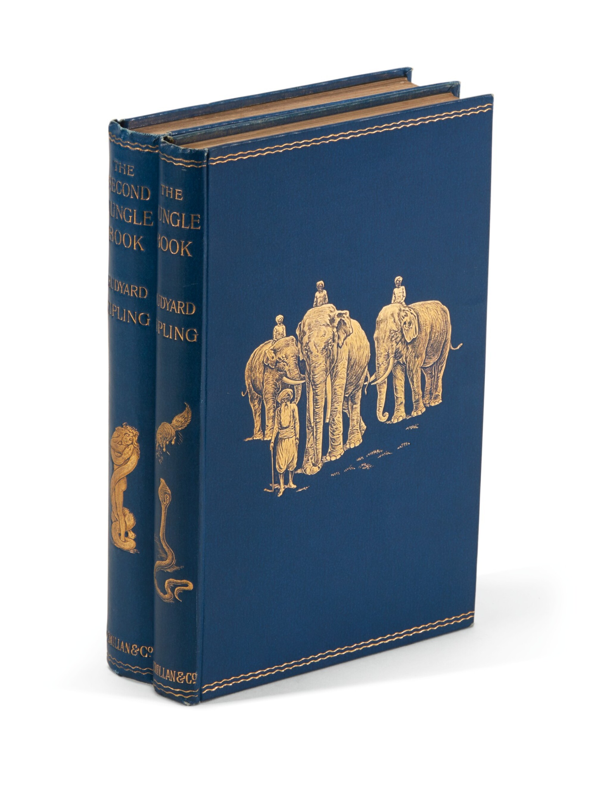 View full screen - View 1 of Lot 110. Kipling, [The Jungle Books], with autograph letter signed, 1894 and 1895.