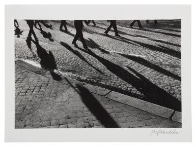 View 2. Thumbnail of Lot 102. France, Shadows on Pavement (from Exiles).