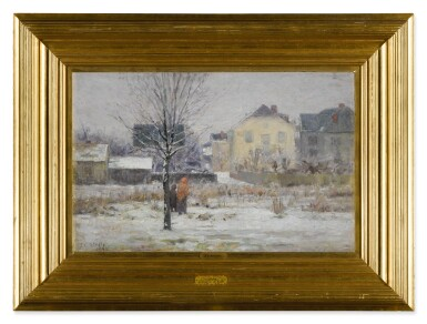 View 2. Thumbnail of Lot 122. A Winter Day.