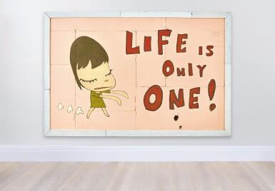 View 2. Thumbnail of Lot 1134. Yoshitomo Nara 奈良美智   Life is Only One! 無常人生.