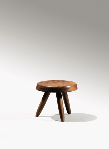 View 3. Thumbnail of Lot 14. Berger stool, designed in 1953.