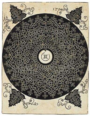 View 4. Thumbnail of Lot 30.  ALBRECHT DÜRER  |  INTERLACED CORD PATTERNS (B. 140, 142-143, 145; M. 274, 276-277, 279).