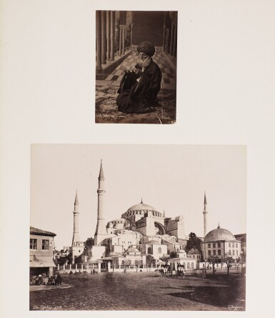 View 3. Thumbnail of Lot 224. Constantinople | album of photographs, [c.1880-1890s].