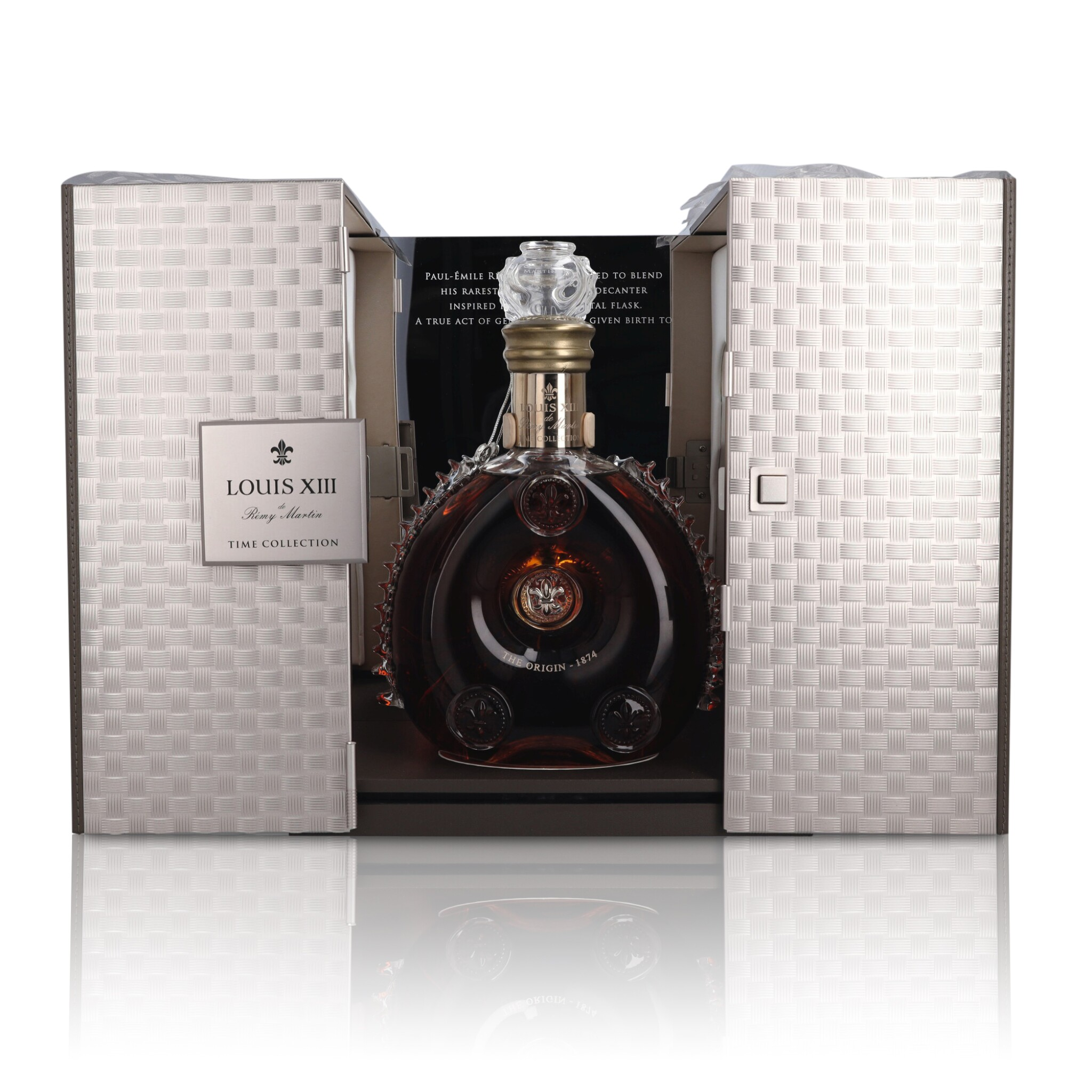 View full screen - View 1 of Lot 176. Remy Martin Louis XIII Time Collection: The Origin - 1874 40.0 abv NV (1 BT75).