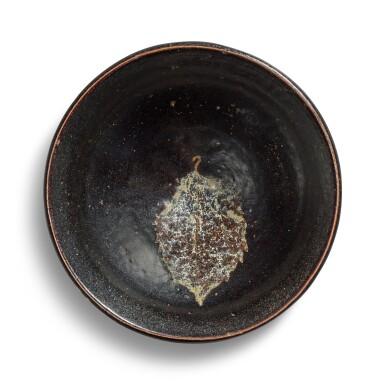 View 1. Thumbnail of Lot 103. A 'Jizhou' 'leaf' bowl, Song dynasty.