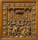 SOUTHERN NETHERANDISH, MALINES, SECOND HALF 16TH CENTURY | HOUSE ALTAR WITH THE LAST SUPPER