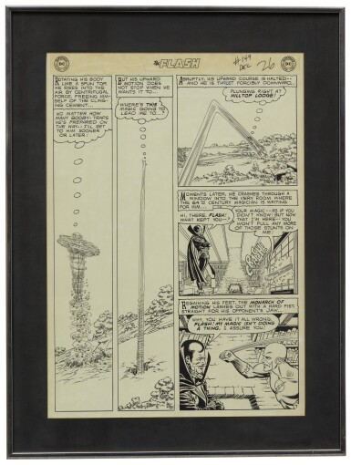 THE FLASH | Carmine Infantino and Murphy Anderson. The Flash #149 Story Page 7. [DC Comics, 1964]