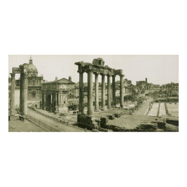 GIACOMO BROGI | THE FORUM TEMPLE RUINS, ROME