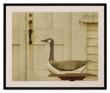 View 2. Thumbnail of Lot 152. Antique Sale (Canadian Goose Decoy).