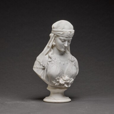 View 2. Thumbnail of Lot 121. GALLERIA LAPINI | BUST OF THE SHULAMITE.