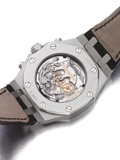 AUDEMARS PIGUET | ROYAL OAK TOURBILLON CHRONOGRAPH, A STAINLESS STEEL TOURBILLON CHRONOGRAPH WRISTWATCH CIRCA 2011