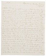 Francis Napier, 10th Lord Napier and 1st Baron Ettrick c.200 letters to Miss Lockwood, 19th century