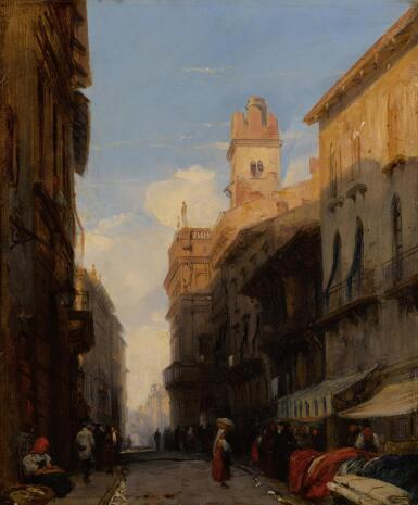 View 1. Thumbnail of Lot 37. Corso Sant'Anastasia, Verona.